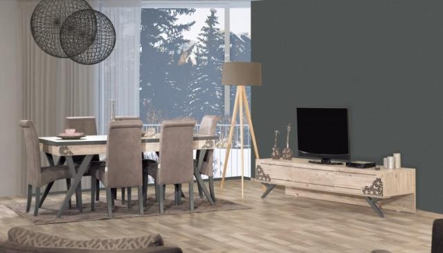 Kilim Mobilya Biga Yemek Odası