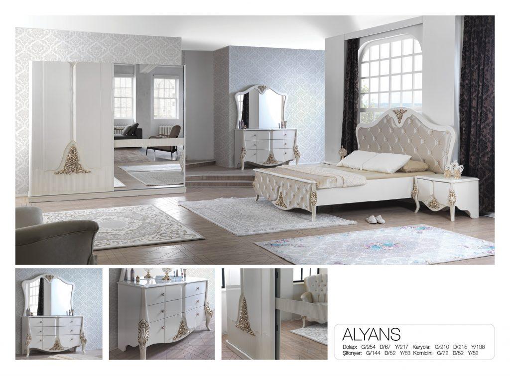 Arrigo Mobilya Alyans Yatak Odası