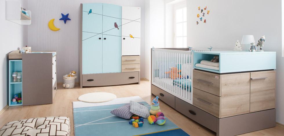 Newjoy Mobilya Blue Birdy Bebek Odası