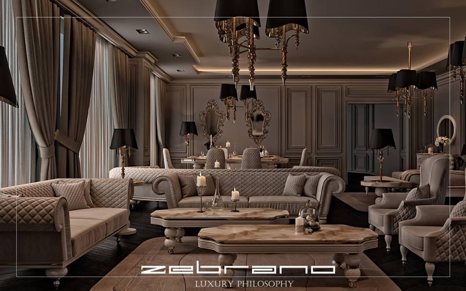 Zebrano Mobilya Sentinus Yemek Odası