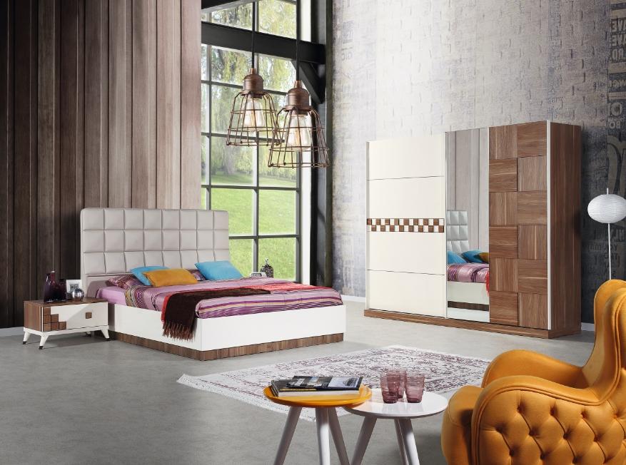 Nevi Mobilya Milano Yatak Odası