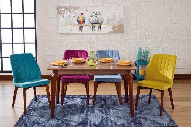 Aldora Mobilya Mutfak Masa Sandalye Takımı