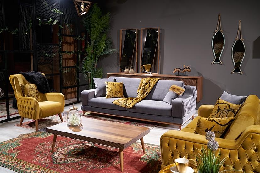 Luxe Life Mobilya Diva Koltuk Takımı