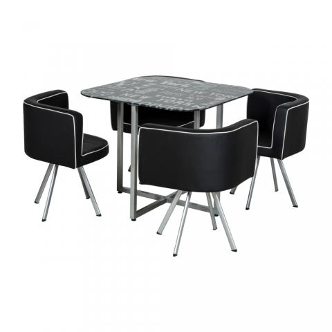 Mudo City Design Masa Sandalye Takımı