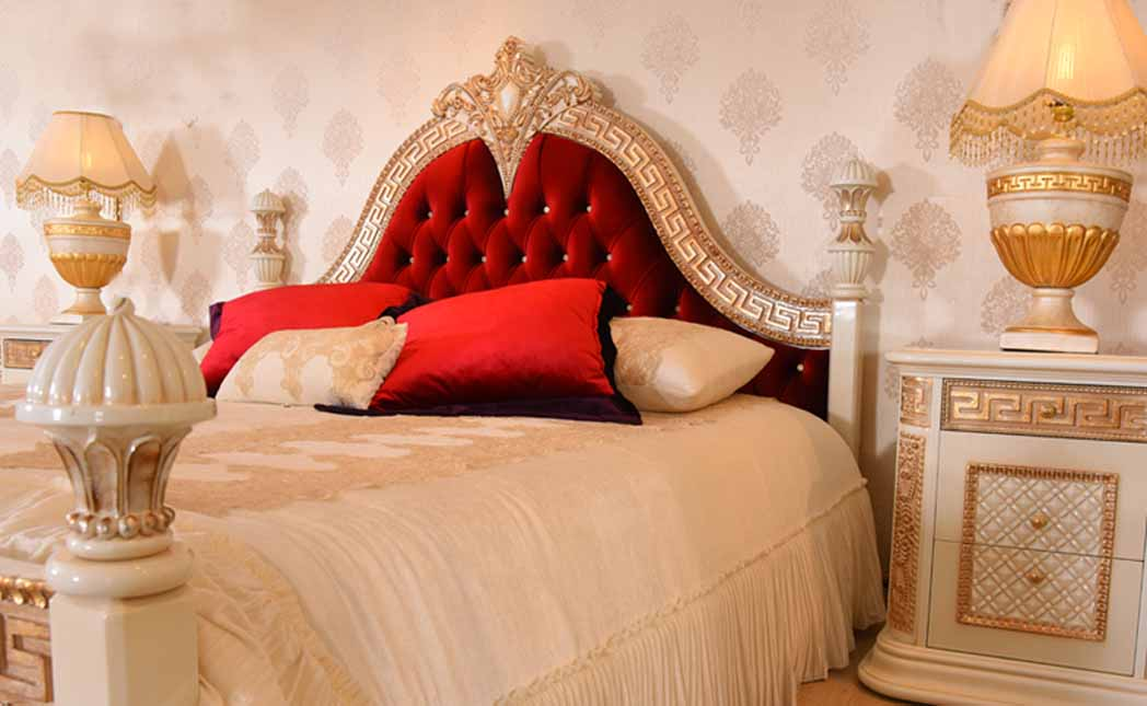 Asortie Mobilya Barcelona Klasik Yatak Odası