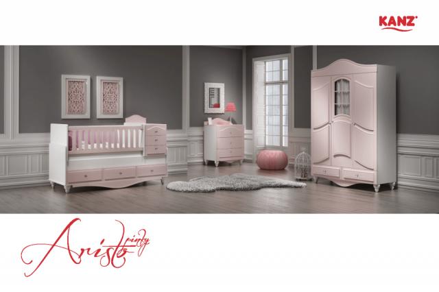 Kanz Mobilya Aristo Bebek Odası Takımı