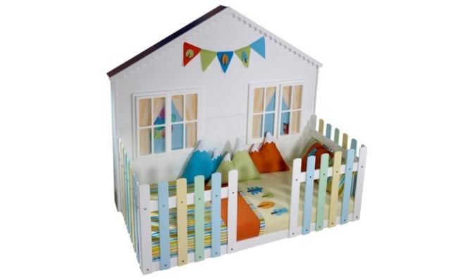 Meltem Mobilya Ev Şeklinde Çocuk Odası