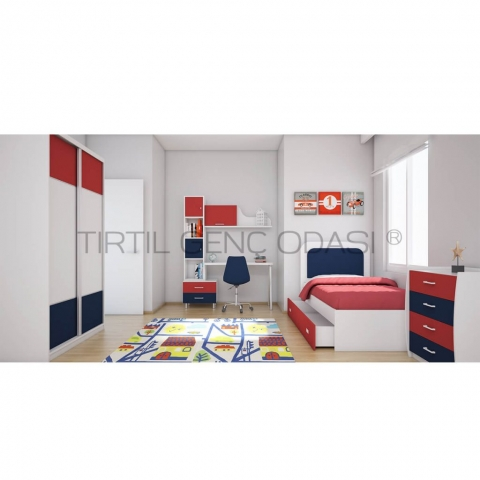 Tırtıl Mobilya XL Genç Odası
