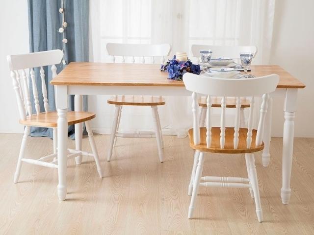 Biev Avm Naturel Mutfak Masa Sandalye Takımı