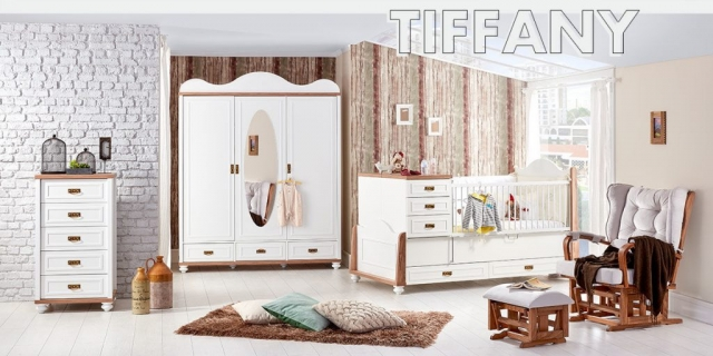 Caploonba Mobilya Tiffany Bebek Odasi