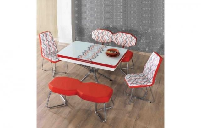 Ev Shop Avm Banklı Mutfak Masa Sandalye Takımı
