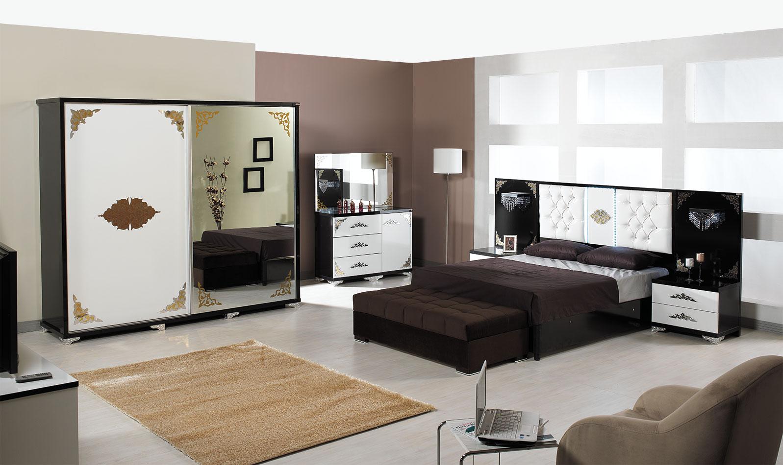 Dessenti Mobilya Arca Yatak Odası
