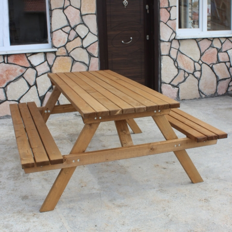 Koçtaş Ahşap Piknik Masası