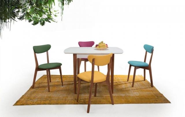 Avonsofa Mobilya Rimini Mutfak Masa Sandalye Takımı
