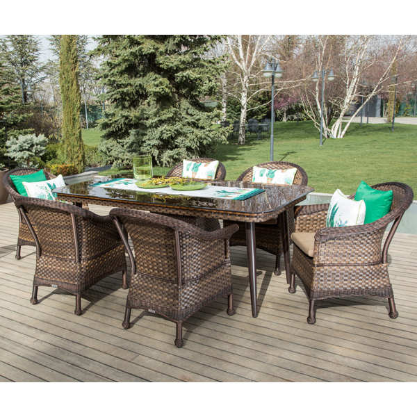Tepe Home Mobilya Bahçe Masa Sandalye Takımı