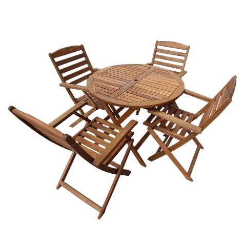 Banio Jadel Katlanabilir Masa Sandalye Takımı