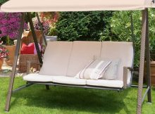 Bauhaus Rattan Bahçe Salıncak