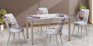 Mimba Mobilya Kelebek Mutfak Masası Takımı