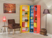 Modalife Mobilya Köşe Kitaplık