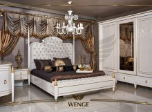 Wenge Mobilya Elis Yatak Odası