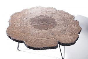 Weltew Mobilya Ağaç Orta Sehpa
