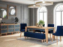 Cardin Concept Yemek Masa Sandalye Takımı
