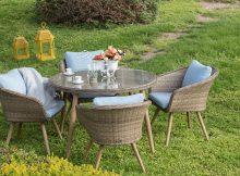 İstikbal Mobilya Bahçe Masa Sandalye Takımı