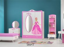 Gündoğdu Mobilya Kız Çocuk Odası