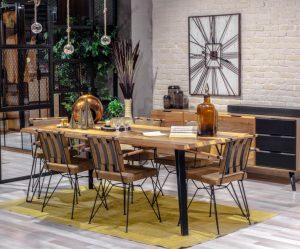 Luxe Life Yemek Masa Sandalye Takımı