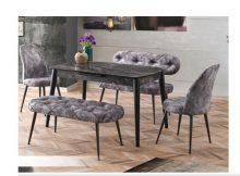 Evkur Mutfak Masa Sandalye Takımı