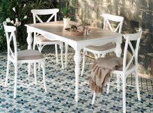 Enza Home Mutfak Masası ve Sandalye Seti